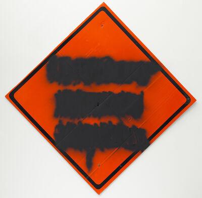 Mark Flood, 'Orange Diamond Mute', 2014