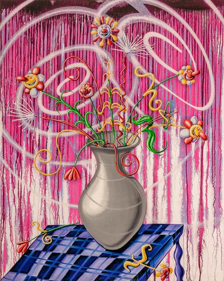Kenny Scharf, 'Flores Magenta', 2020