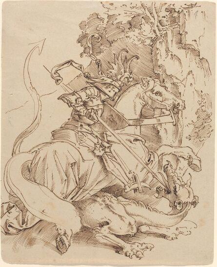 Moritz von Schwind, 'Saint George and the Dragon', 1825/1830