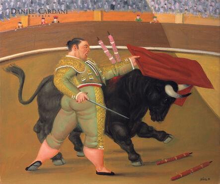 Fernando Botero, 'Pase de pecho', 1991