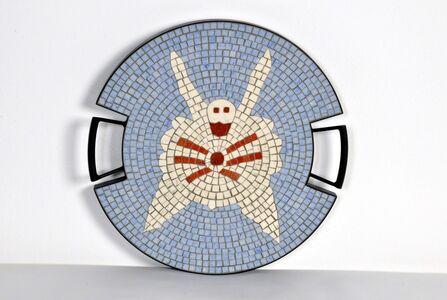 "Ugo La Pietra, 'The Spider tray in hand-set mosaic, from the ""Strange Animals Collection"" by Ugo La Pietra, Spilimbergo, Italy, 2016.', 2016"