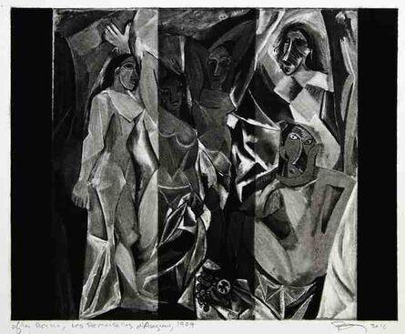 Robert Longo, 'Untitled (After Picasso, Les Demoiselles d'Avignon, 1907)', 2016