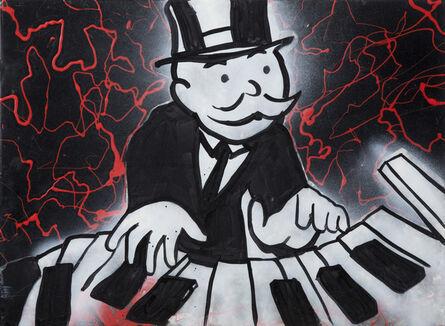 Alec Monopoly, 'Monopoly Man Piano', Undated
