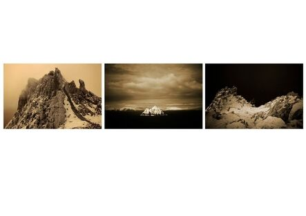 Clare Langan, 'The Floating World –Skellig Triptych', 2013