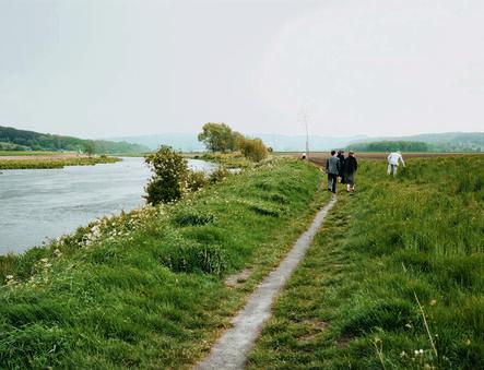Andreas Gursky, 'Mülheim, Sunday Walkers', 1985
