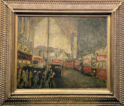 Glenn O. Coleman, 'Untitled, City scene', ca. 1925