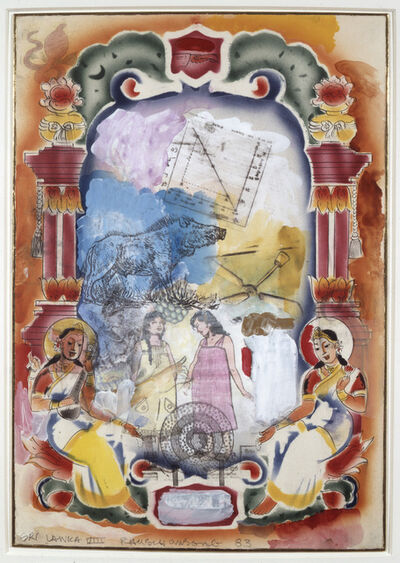 Robert Rauschenberg, 'Sri Lanka VIII', 1983