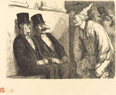 Etienne after Honoré Daumier, 'Bal de l'Opera: Tu t'amuses trop!', 1868
