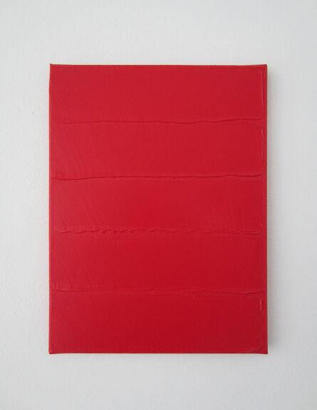 Bernard Aubertin, 'Rouge horizontal', 2014