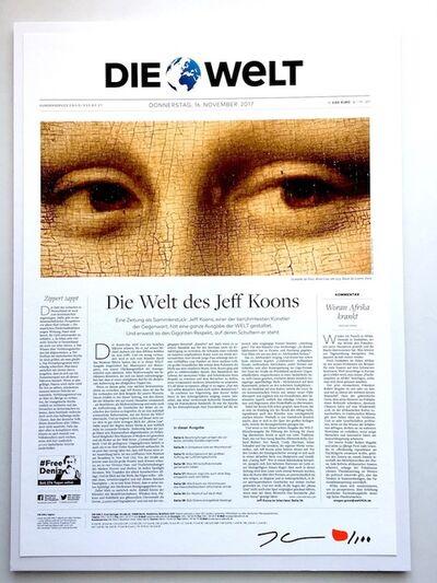 Jeff Koons, 'Die Welt - Collector's Edition', 2018