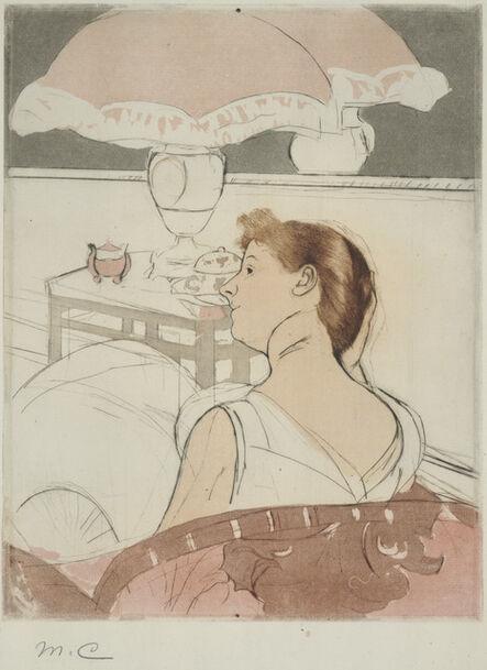 Mary Cassatt, 'The Lamp', 1890-1885