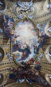 Giovanni Battista Gaulli, called Baciccio, 'The Triumph of the Name of Jesus and the Fall of the Damned', 1672-1685