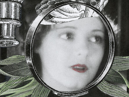 Stacey Steers, 'Edge of Alchemy Ed. 10 (woman face in lens)'