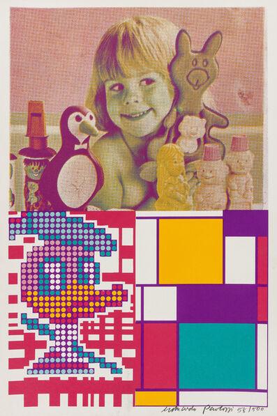 Eduardo Paolozzi, 'Donald Duck Meets Mondrian', 1967