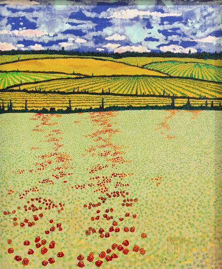 H.M. Saffer II, 'Spring Poppies III', ca. 2016