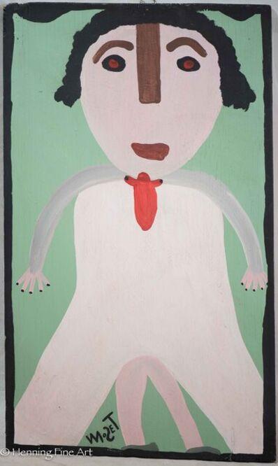 Mose Tolliver, 'Figurative Portrait', ca. 1980