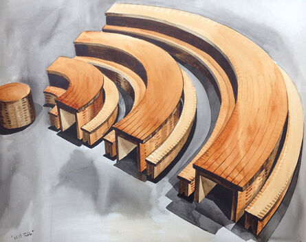 Abel Barroso, 'Wi-Fi Table', 2018