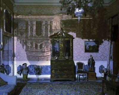Abelardo Morell, 'Camera Obscura: Santa Maria della Salute inside Palazzo Livingroom, Venice, Italy', 2006