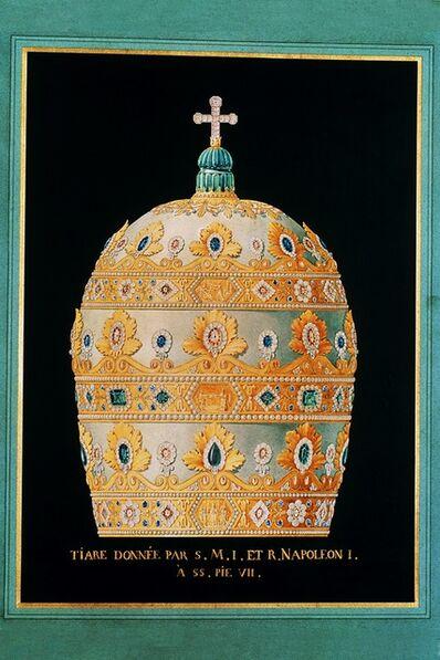 Nitot & Fils, 'Dessin de la tiare de Pie VII (Drawing for the tiara of Pius VII)', 1805