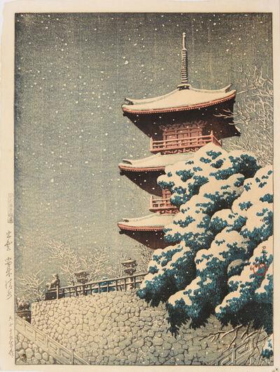 Kawase Hasui, 'Yasugi Kiyomizu in Izumo', 1926