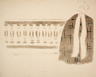 Pierre Bonnard, 'Untitled (woman on balcony)'