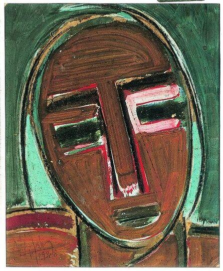 Wifredo Lam, 'Self-Portrait, III  ', 1938