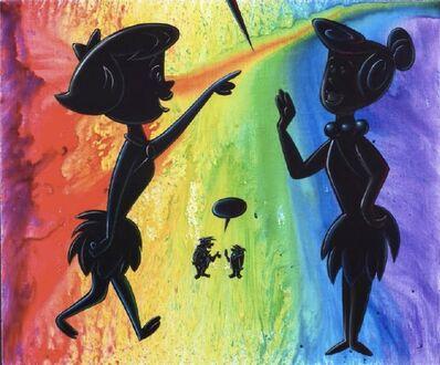 Kenny Scharf, 'obsidianbarbera', 2012