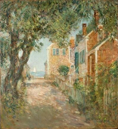 Childe Hassam, 'Street in Provincetown', 1904