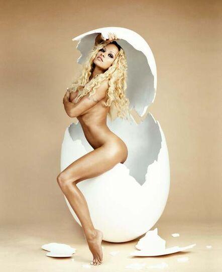 David LaChapelle, 'Pamela Anderson: Over easy', 1998
