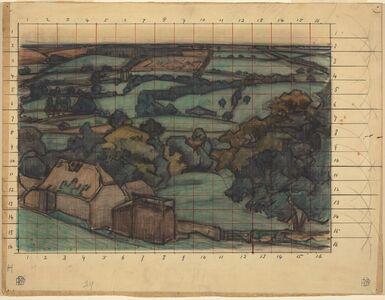 Robert Polhill Bevan, 'Rosemary, No. 1 Devon', ca. 1915