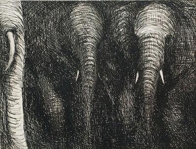 Henry Moore, 'Elephants', 1979