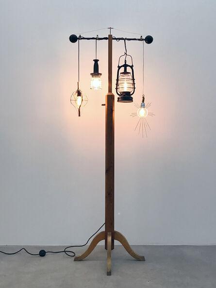 Bo Christian Larsson, 'Lamp Pole', 2017