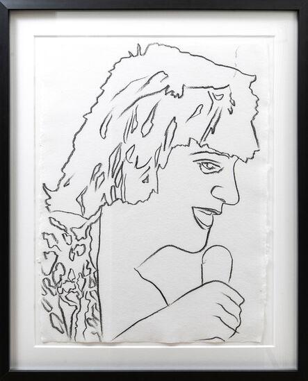 Andy Warhol, 'Rod Stewart', ca. 1978