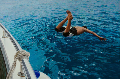 Gustavo Fernandes (b. 1964), 'The First Dive'
