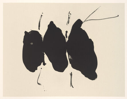 Robert Motherwell, 'Mexican Elegy', 1987