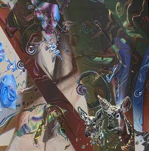 Gegam Kacherian, 'Upside Down Forest', 2017