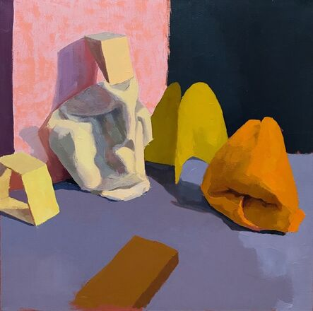 Annie Compean, 'Yellow Scene', 2020
