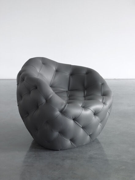 Robert Stadler, 'Spherical Bomb Armchair (Dark Grey)', 2009