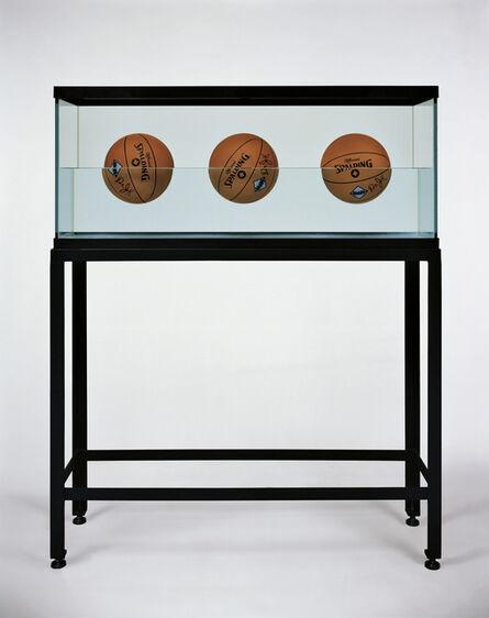 Jeff Koons, 'Three Ball 50-50 Tank (Spalding Dr. JK Silver Series)', 1985