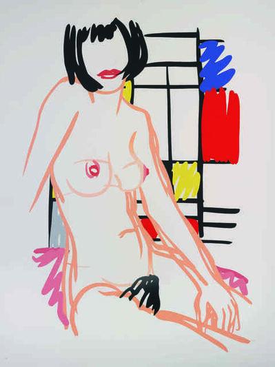 Tom Wesselmann, 'Monica Sitting with Mondrian', 1989