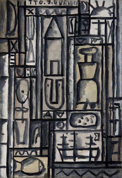 José Gurvich, 'Constructivo en blanco y negro', ca. 1950