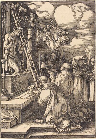 Albrecht Dürer, 'The Mass of Saint Gregory', 1511