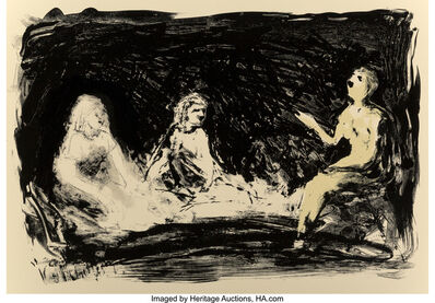 Eric Fischl, 'Three Seated Women, from Annie, Gwen, Lilly, Pam and Tulip', 1987