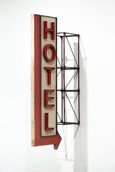 Drew Leshko, 'Hotel with Arrow', 2020