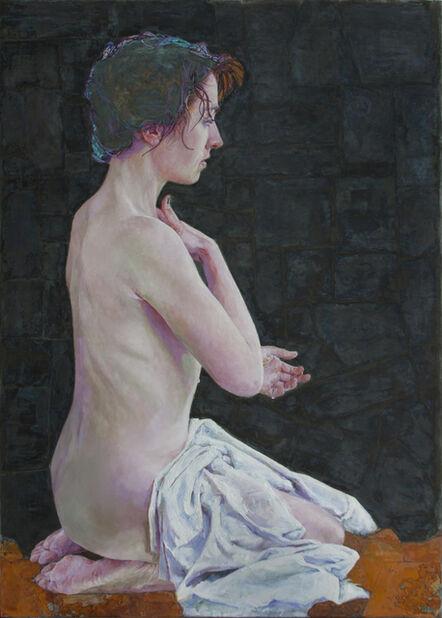 Piet van den Boog, 'Woman Bathing II', 2016