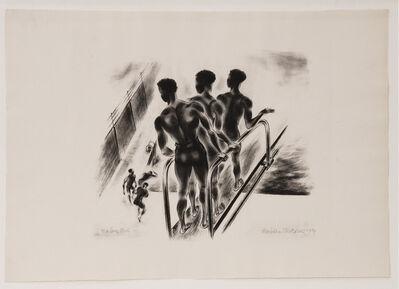 Barbara Morgan, 'Harlem Pool', 1934