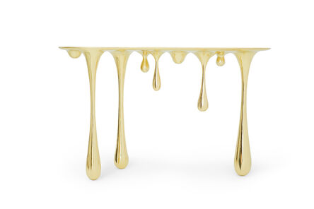 Zhipeng Tan, 'Melting Console Table (Brass)', 2017