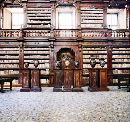 Candida Höfer, 'Biblioteca dei Girolamini Napoli IV ', 2009