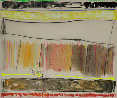 Joyce Weinstein, 'Counrty Fields with First Hint of Spring', 2014