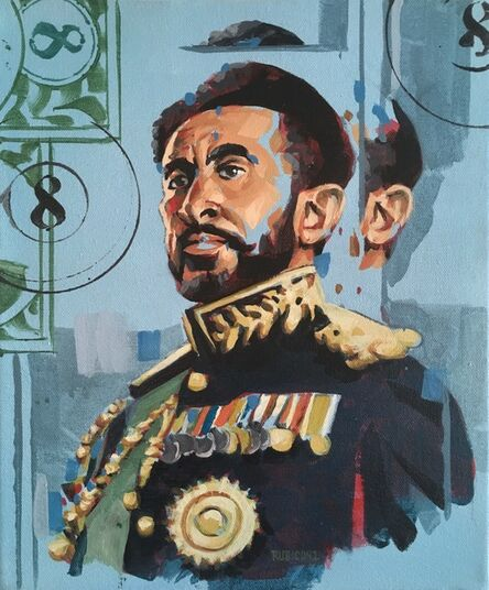 RU8ICON1, 'Haile Selassie I', 2017